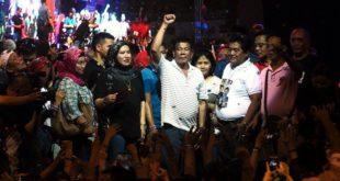 菲律賓總統杜特蒂的鐵腕統治政策,讓他備受民眾愛戴。(圖片來源/翻攝自杜特蒂臉書)