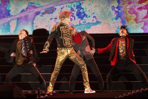 Bii日前結束在台大的個人演唱會,舞台上的他熱力四射。(圖片來源:Bii臉書)