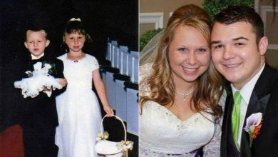 Photo of 17年前一起當花童走紅毯 17年後成為夫妻