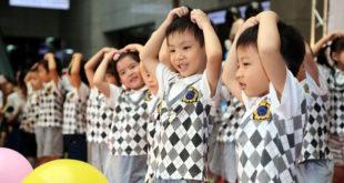 台北市政府5日舉辦親子日活動,台北市長柯文哲表示,自己過去忙於工作,在子女成長過程缺席,有點感嘆。  圖片來源:台北市政府提供