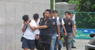 警方破獲一群由8年級生所組成的詐騙洗錢中心,該中心經手金額至少8千萬元以上。  圖片來源:刑事警察局