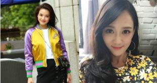 女星陳喬恩(右)、舒淇不急著擺脫單身,等待對的人出現。(合成圖,照片提供:翻攝陳喬恩微博)