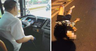 (左)公車司機邊玩寶可夢邊開車;(右)一名機車騎士因邊騎車邊抓寶可夢,導致摔車骨折。(圖片來源:翻攝臉書)