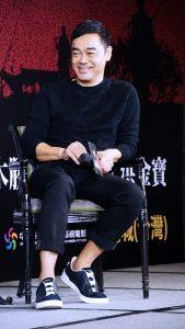 劉青雲在記者會上提到自己為何這麼喜歡劇中角色。(圖片來源:吳宜庭攝)
