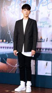 柯震東專注在演藝事業上,即使下了戲仍很關心電影。(圖片來源:吳宜庭攝)
