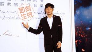 李榮浩與華納再續約,未來要攜手做出更棒的音樂。(圖片來源:吳宜庭攝)