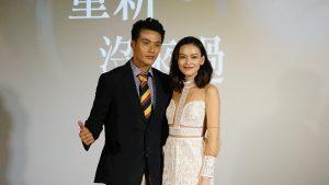 男女主角張睿家、姚以緹在戲中互尬演技。(圖片來源:吳宜庭攝)