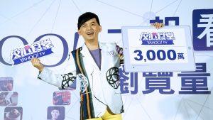 黃子佼的直播節目〈佼心食堂〉開台已破3000萬人次。(圖片來源:吳宜庭攝)