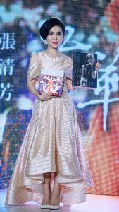 張清芳發行完演唱會DVD後,重心將更放在家庭上。(圖片來源:吳宜庭攝)