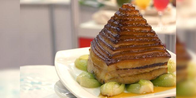 2016年美食展有許多具台灣代表的特色料理主題館。(謝婷婷攝)