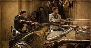 18日上映的《賓漢》電影中有許多讓人血脈噴張的激戰場景,氣勢磅礡!(照片來源:teaser)