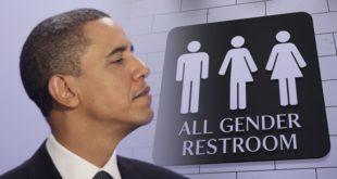 美國總統歐巴馬下達的全美學校如廁指導命令,日前被宣判違法 。(圖片來源/翻攝自網路)