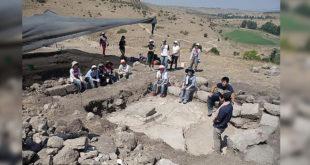 考古學家近日在加利利地區發現一世紀的農村猶太教堂 。(圖片來源:每日郵報)