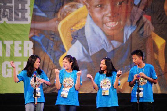 現場許多學生參與。(圖片來源:台灣世界展望會)