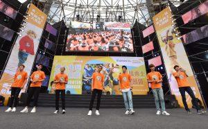 Spexial現身演唱為飢餓勇士加油。(圖片來源:台灣世界展望會提供)