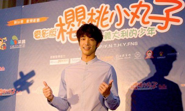 擁有陽光笑容的劉以豪,在電影中為男主角安德烈中文配音。(照片由謝婷婷拍攝)