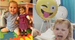 2歲的艾倫雖然截去四肢,但仍樂觀面對人生。(圖片來源:Hope 4 Harmonie/Facebook)