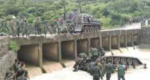 漢光演習戰車翻覆造成官兵死傷,經調查疑似因戰車煞車失靈導致意外。(圖片來源:陸軍提供)
