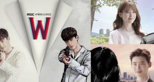 李鍾碩與韓孝珠主演的韓劇《W-兩個世界》講述的是在現實和假想世界中交錯展開的懸疑愛情故事,播出不久後即奪得收視冠軍。