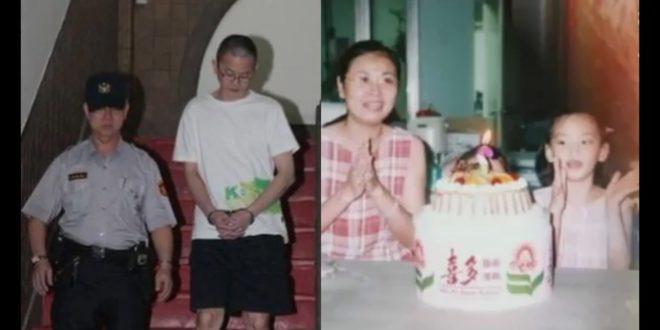 為討小三歡心,狠心殺害妻子跟2個女兒(右圖)的張鶴齡(左)判處無期徒刑定讞。(翻攝網路)