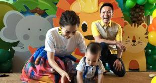 徐若瑄(左)表示,選擇走入家庭,最主要的抉擇點在李雲峰(右)可以給自己安定跟安全感。(圖片提供:翻攝徐若瑄 Vivian Hsu臉書)