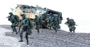 國防部針對裁撤三萬軍力一說表示為不實消息。(國防部發言人臉書)
