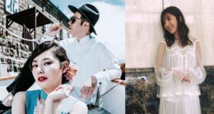 陳怡蓉與薛傅仁交往1年多,今日在泰國清邁舉行婚禮,好姐妹楊謹華(右圖)擔任伴娘。(合成圖,圖片提供:翻攝陳怡蓉的官方FB臉書、楊謹華 Cheryl臉書)