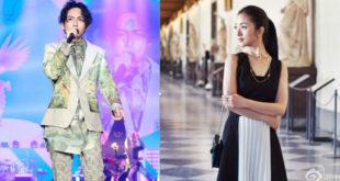 林宥嘉(左圖)二度詮釋林依晨主演電影的主題曲,坦言有機會的話,非常想跟她演戲。(合成圖,圖片提供:翻攝林宥嘉、林依晨臉書)