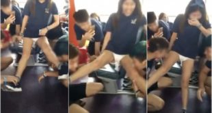 香港一所理工大學迎新會玩過火,引起各界抨擊!(圖片來源/翻攝自網路)