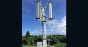 日本工程師發明了號稱全球第一台的颱風發電機,據悉,一個成熟颱風的能量,足以提供全日本50年的用電量。(圖片來源/翻攝自網路)