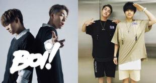 男團「Boi!」,由27歲的陳信維(CUZY)和25歲的王翔永(EVER)組團。(合成圖,圖片提供:翻攝BOi!陳信維X王翔永臉書)