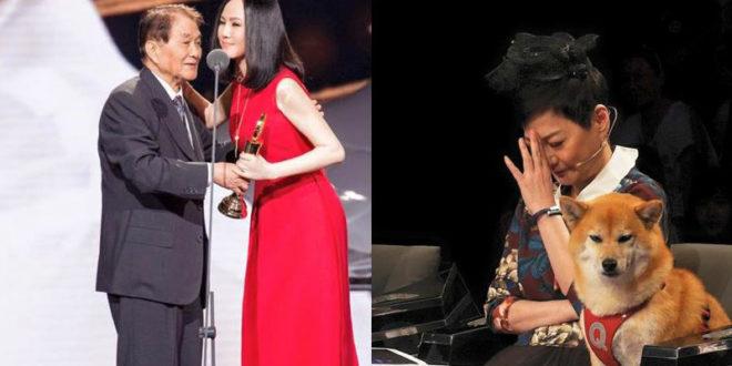 江蕙(左圖右)深受寇桑提攜在臉書發文:「希望您一路好走了!」張小燕(右圖)哀痛表示:「他走了!代表台灣一個電視時代的結束。」(合成圖,圖片提供:翻攝江蕙、張小燕臉書)