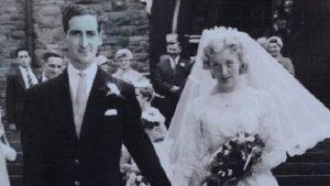 於巴士結緣的兩人, 於1959步入禮堂,結為連理。(圖片來源/翻攝自網路)
