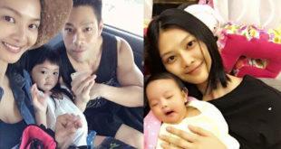 名模林嘉綺與黃麟書結婚5年,育有二名女兒。(合成圖,圖片來源:翻攝林嘉綺 Patina Lin臉書)