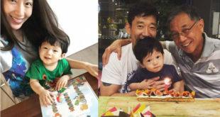 藝人隋棠去年生下兒子Max,就把重心放在家庭。(合成圖,照片提供:翻攝隋棠 Sonia Sui臉書)