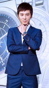 李國毅今日出席手錶代言活動,除了帥氣外表也多了一分成熟穩重。(圖片來源:吳宜庭攝)