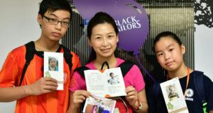 陳姹奼不僅自己參與展望會資助兒童計畫,更邀請兒女一起關心世界另一端的弟弟妹妹。(照片由台灣世界展望會提供)