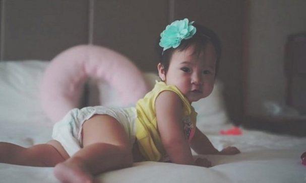 方志友開心表示沛沛未來可以跟女兒MIA(圖示)成為好朋友。(翻攝方志友臉書)