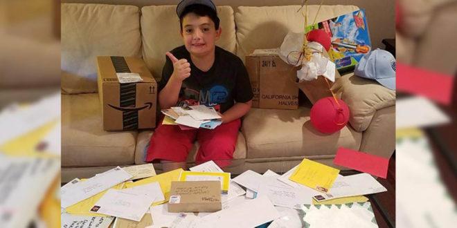 美國一位暖心爸爸,為了讓患有自閉症的兒子交到朋友,於是上網幫兒子「誠徵好友。」(照片翻攝英國電報)