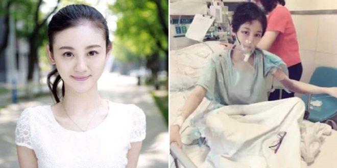 大陸女星陳婷疑因甲醛罹癌過世。(翻攝微博)