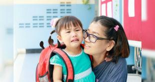 美國精神醫學學會提醒若小孩表現出不願上學,且持續六個月,有可能是罹患焦慮症。(圖片來源:123rf)