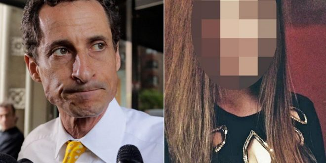 前美國眾議員維諾(圖左),近日被爆傳不雅性愛簡訊及照片給年僅15 歲的少女(圖右),而遭聯邦調查局偵查。