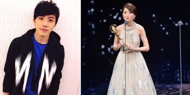 坤達知道柯佳嬿獲得最佳女主角獎時,在臉書上放閃發文恭喜對方。(圖片來源:坤達臉書&金鐘51提供)