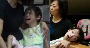 緹仔是重度腦麻患者,她今年16歲,但連頭和身體都沒辦法自己維持挺直,身高僅有110公分、體重約為12公斤。(翻攝網路)