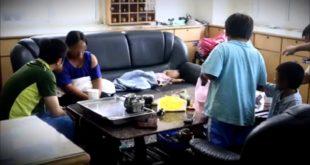 警方將這一家人從台北市帶回苗栗後,暫時安置於通霄分局,目前已由苗栗縣政府保護服務科接續進行處遇。(翻攝網路)