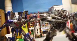 曾丞璿以「停格動畫」製作的玩具電影,已累積上千萬的點閱率。(翻攝網路)