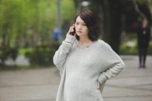 楊丞琳在荼蘼劇中首度演出孕婦。(圖片來源:好風光提供)