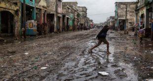 加勒比海近10年最強、威力高達4級的颶風「馬修」,重創海地,據統計,至少造成300人死亡。(圖片來源/UN官網)