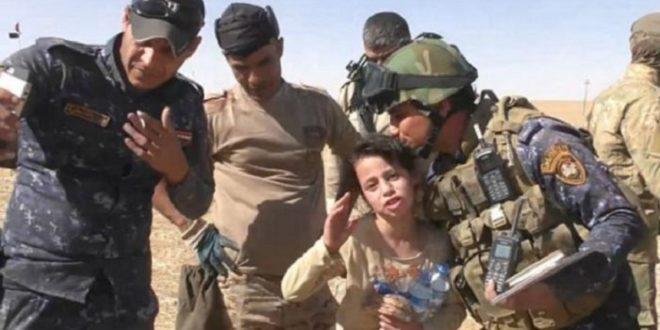 摩蘇爾斷水斷糧3天 10歲女見伊軍不斷感謝