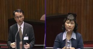 大法官被提名人黃昭元20日接受立委質詢時表示,目前同性婚姻還有一、二案還在大法官釋憲審理中,為了維持審判的獨立,他不便表示意見。但他個人態度仍傾向同情。  圖片來源:影片截圖